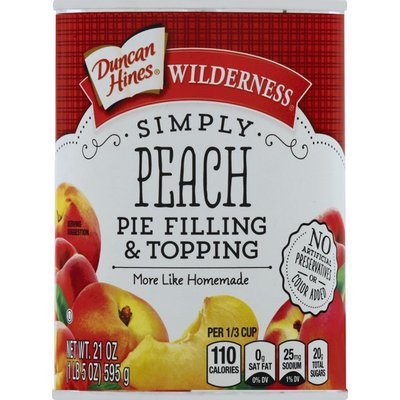 Duncan Hines Pie Filling & Topping, Peach