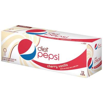 Pepsi Cola, Cherry Vanilla, Diet