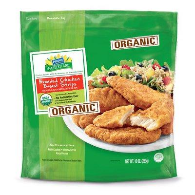Harvestland Organic Breaded Chicken Breast Strips