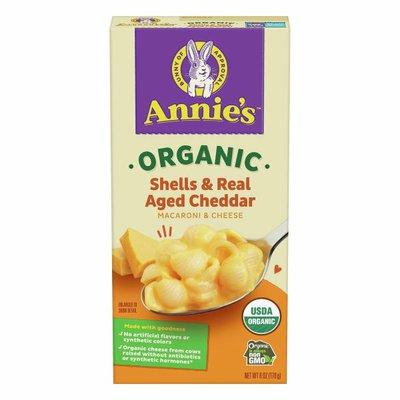 Annie's Organic Shells & Aged Cheddar Macaroni and Cheese, Mac & Cheese