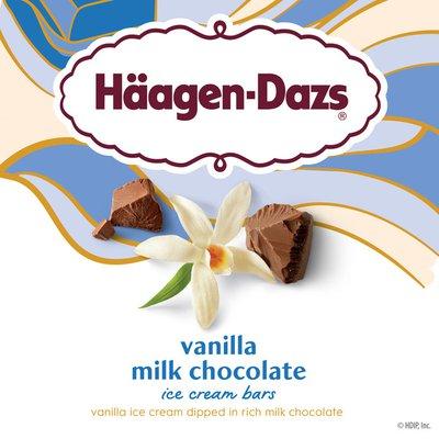 Haagen-Dazs Vanilla Chocolate Ice Cream Bars