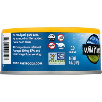 Wild Planet Tuna, Wild, No Salt Added, Albacore