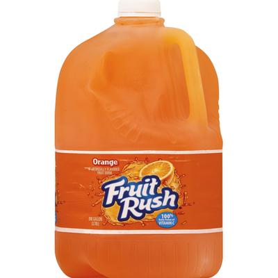 Fruit Rush Fruit Drink, Orange