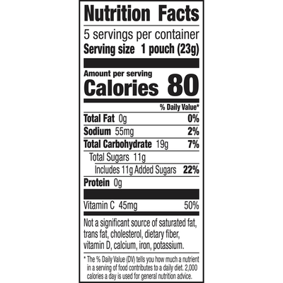Annie's Organic Berry Patch Fruit Snacks, Gluten Free, 5 Count