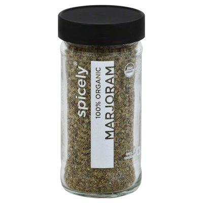 Spicely Organics Marjoram, 100% Organic