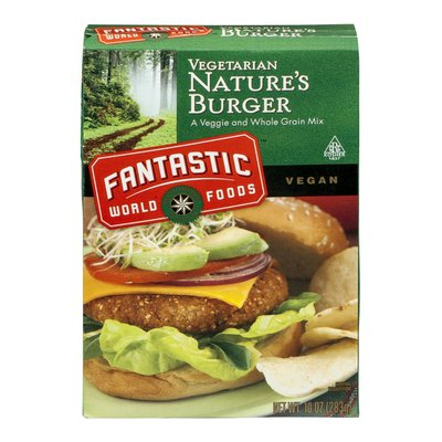 Fantastic World Foods Vegetarian Nature's Burger Veggie and Whole Grain Mix