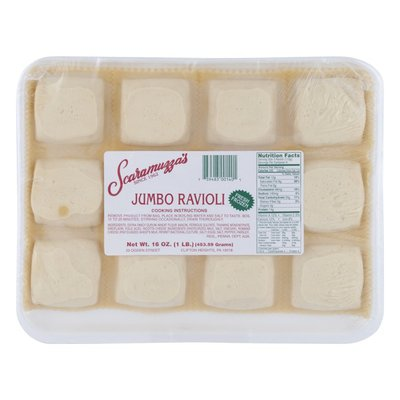 Scaramuzza's Jumbo Ravioli