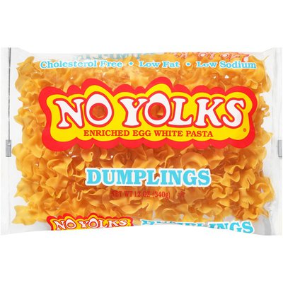 No Yolks Dumplings Enriched Egg White Pasta