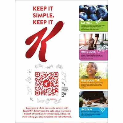 Kellogg's Special K Breakfast Cereal, Good Source of Fiber
