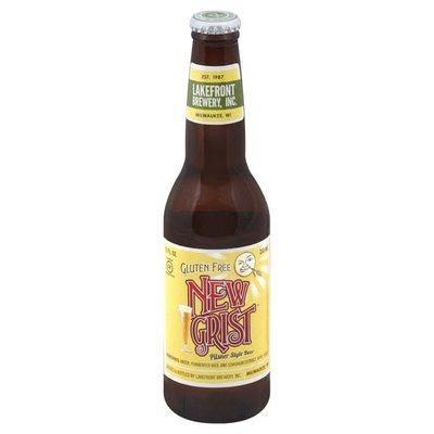 Lakefront Brewery Pilsner Style Beer, Gluten Free