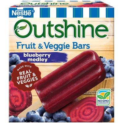 Outshine Blueberry Medley Fruit & Veggie Bars