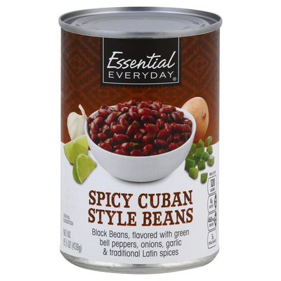 Essential Everyday Beans, Spicy Cuban Style
