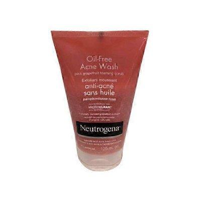 Neutrogena® Pink Grapefruit Oil-Free Acne Wash Foaming Scrub