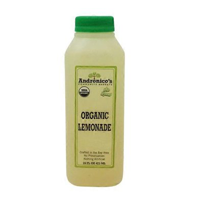 Andronico's Organic Lemonade Juice
