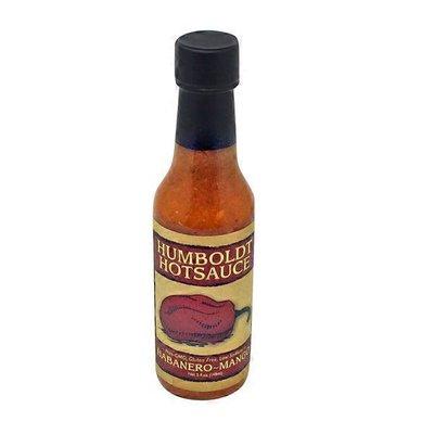 Humboldt Hotsauce All Natural Habanero-mango Sauce