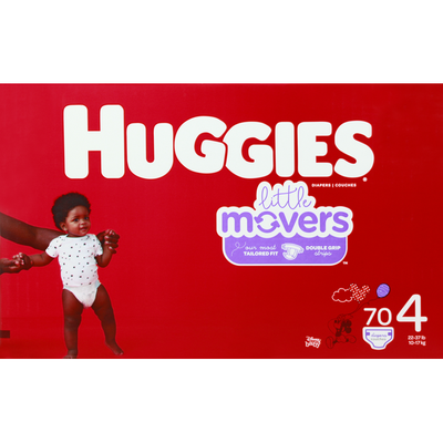 Huggies Diapers, Size 4