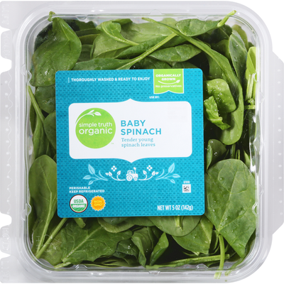 Simple Truth Organic Baby Spinach, Organic