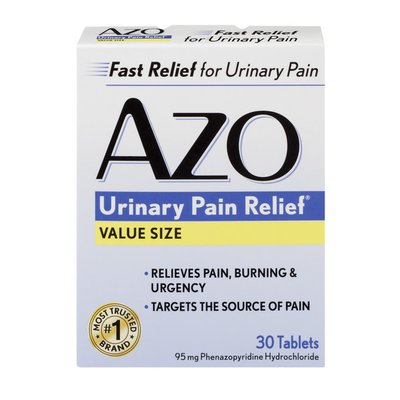 Azo Urinary Pain Relief Value Size