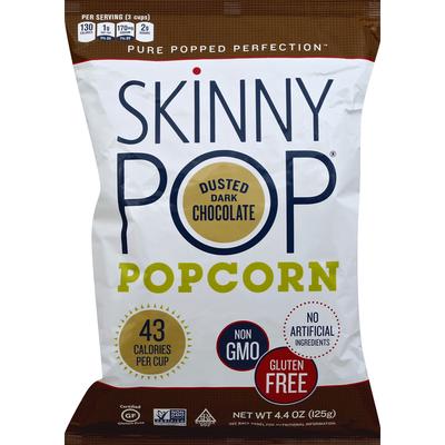 SkinnyPop Popcorn, Dusted Dark Chocolate