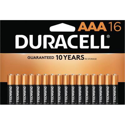 Duracell Batteries, Alkaline, AAA, 16 Pack