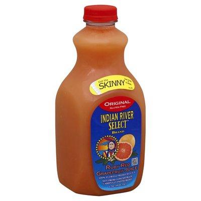 Indian River Select 100% Juice, Ruby Red Grapefruit, Original