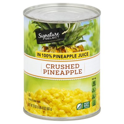 Signature Kitchens Crushed Pineapple In 100% Pineapple Juice