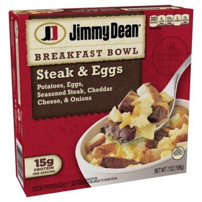 Jimmy Dean Breakfast Bowl, Steak & Eggs