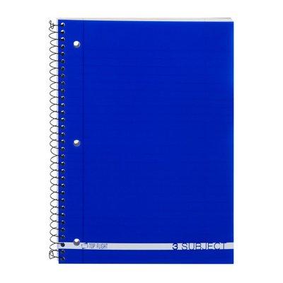 Top Flight 3 Subject Notebook