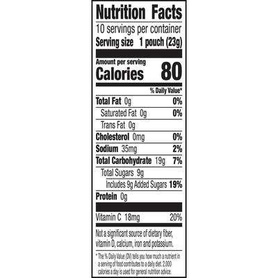 Betty Crocker Star Wars Snacks, Fruit Snacks, 10 Count