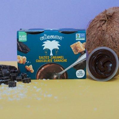 The Collaborative Salted Caramel Chocolate Ganache Dessert Pots