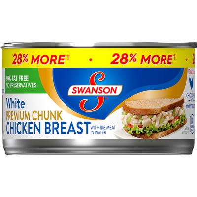 Swanson® Premium White Chunk Chicken Breast
