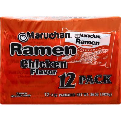 Maruchan Ramen Noodle Soup, Chicken Flavor