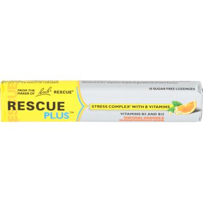 Rescue Vitamin B5 and B12, Orange & Elderflower, Natural, Lozenge