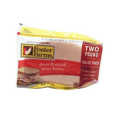 Foster Farms Premium Thin Sliced Oven Roasted White Turkey