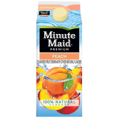 Minute Maid Premium Peach, Fruit Juice Drink