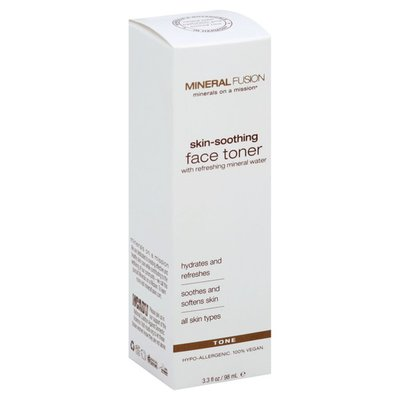 Mineral Fusion Face Toner, Skin-Soothing