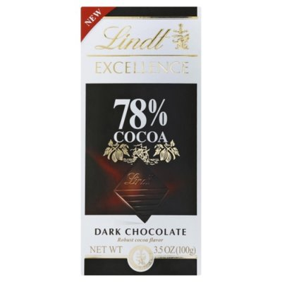 Lindt EXCELLENCE 78% Cocoa Dark Chocolate Bar, Dark Chocolate Candy