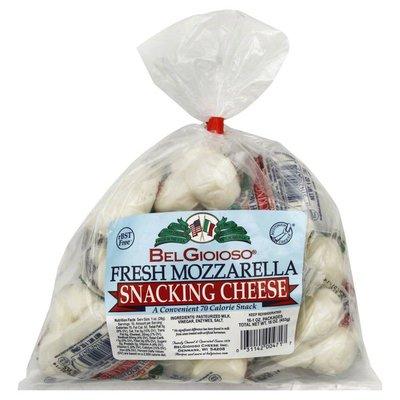 BelGioioso Fresh Mozzerella, Snacking Cheese, Bag