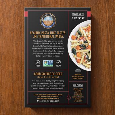 Dreamfields Healthy Pasta Living Pasta, Penne Rigate