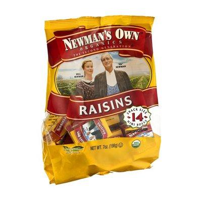 Newman's Own The Second Generation Mini Boxes Raisins - 14 CT