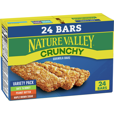 Nature Valley Crunchy Granola Bar, Variety Pack
