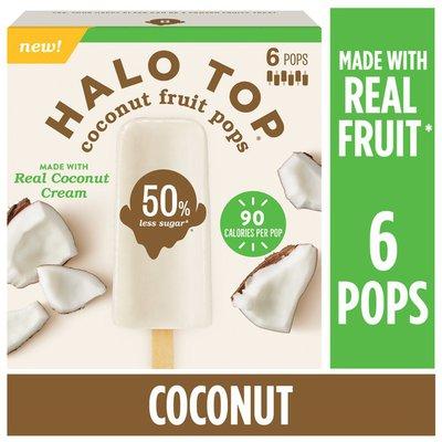 Halo Top Coconut Fruit Pops