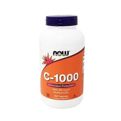 Now C-1000 With Bioflavonoids 100 Mg Antioxidant Protection Dietary Supplement Veg Capsules