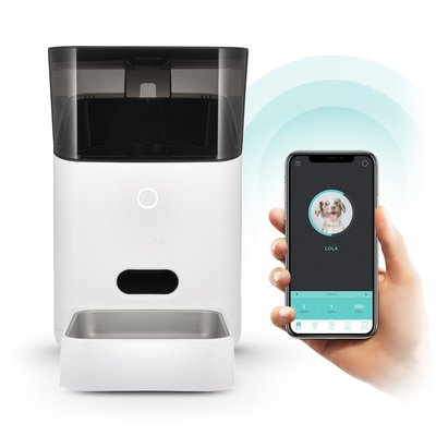 Petnet Medium White Smartfeeder Automated Pet Feeder