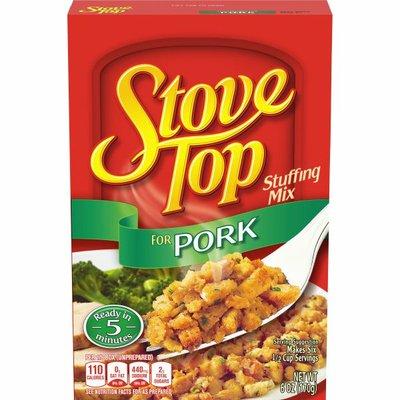 Kraft Stove Top Stove Top Stuffing Mix for Pork