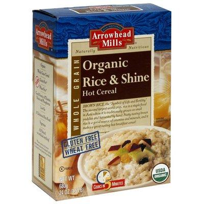 Arrowhead Mills Organic Hot Cereal, Rice & Shine
