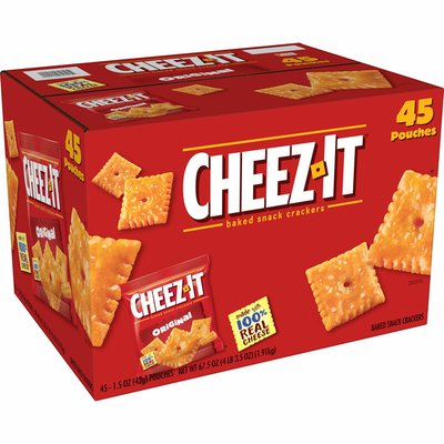 Cheez-It Cheese Crackers, Baked Snack Crackers, Original