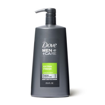 Dove Body Wash With Pump Extra Fresh