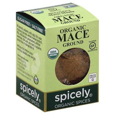Spicely Organics Mace, Ground, Organic, Box