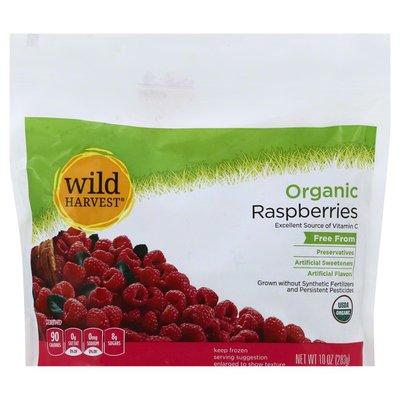 Wild Harvest Raspberries, Organic